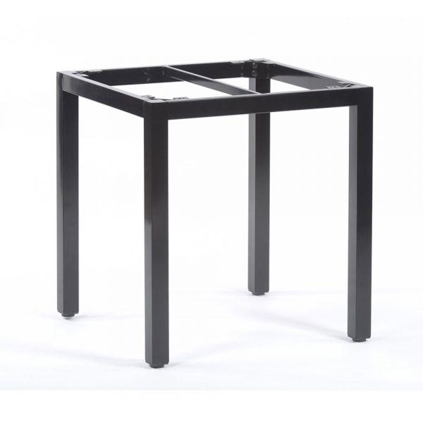 Steel Box Base Frame for 70cm Square Table Top in Black