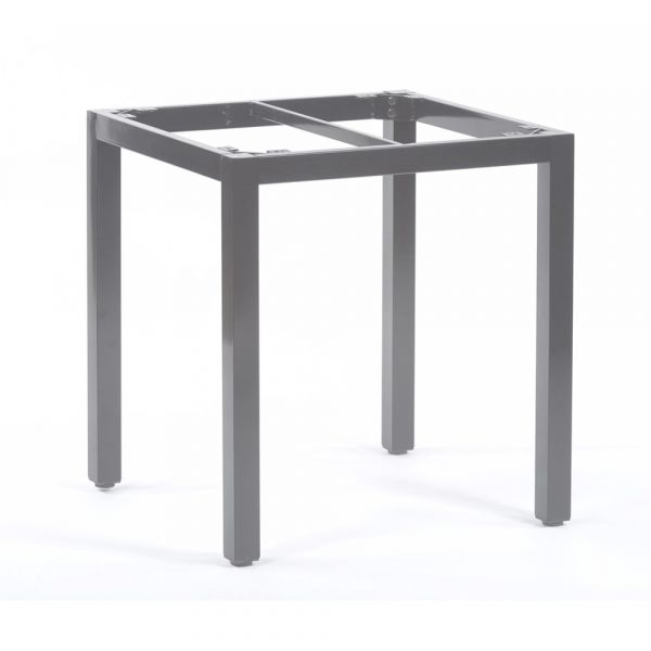 Steel Box Base Frame for 70cm Square Table Top in Grey