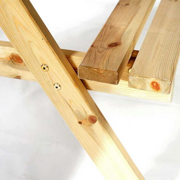 Chester A Frame 6 Seat Commercial Picnic Table