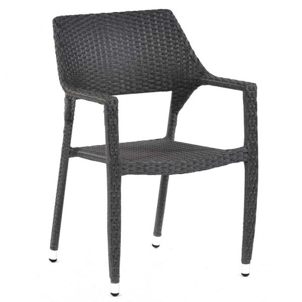Oasis Rattan Stacking Arm Chair