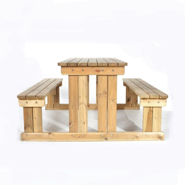 Guernsey 8 Seat Walk-In Commercial Picnic Table