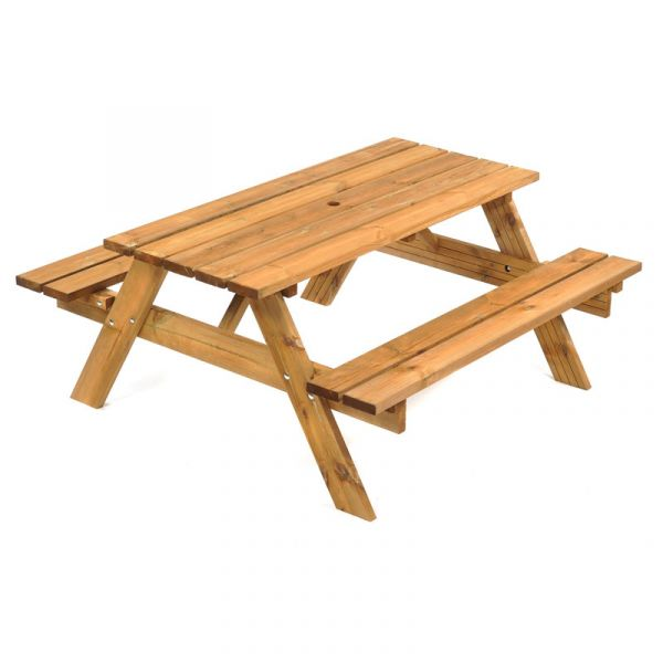 Keswick A Frame 6 Seat Commercial Picnic Table