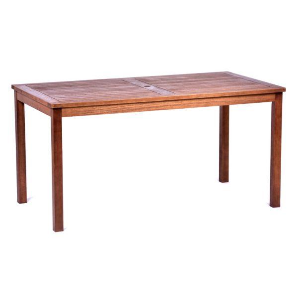 Melton Hardwood Rectangular Dining Table