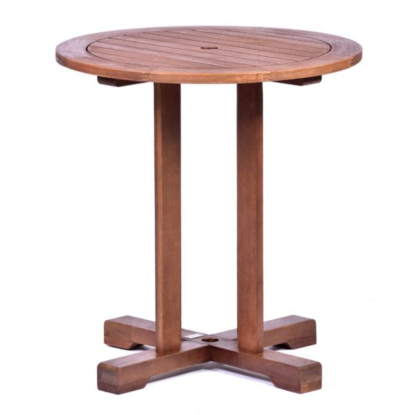 Melton Hardwood Round Bistro Table