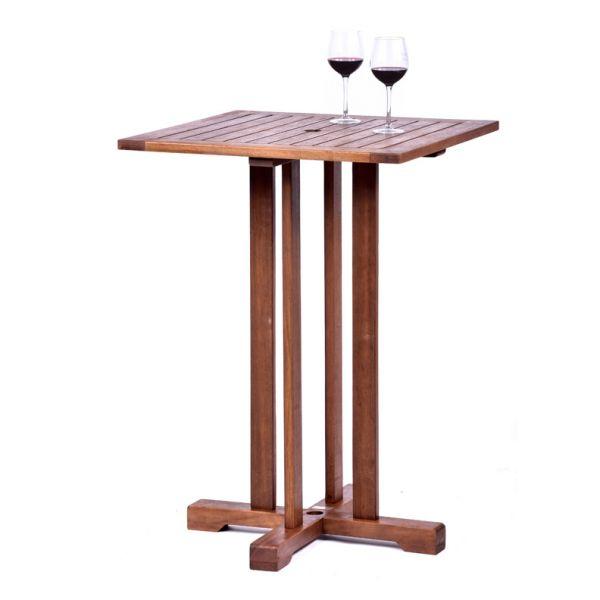 Melton Hardwood Mid-Height Bar Table