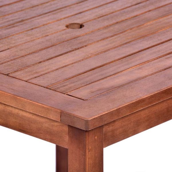 Melton Hardwood Square Dining Table