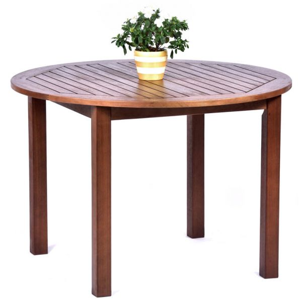 Melton Hardwood Round Dining Table