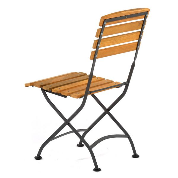 Newark Hardwood Folding Side Chair