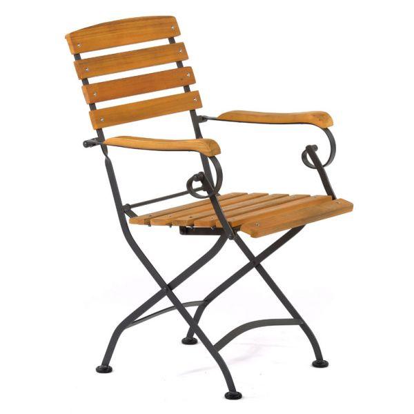 Newark Folding Arm Chair
