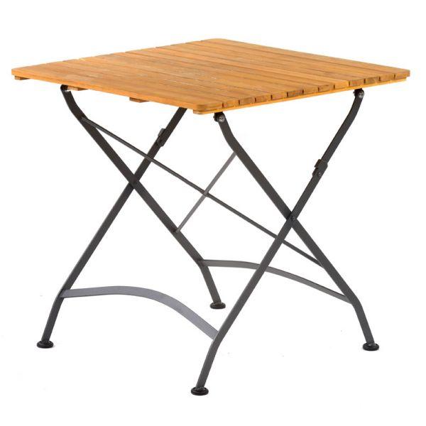 Newark Folding Table Square 75x75cm