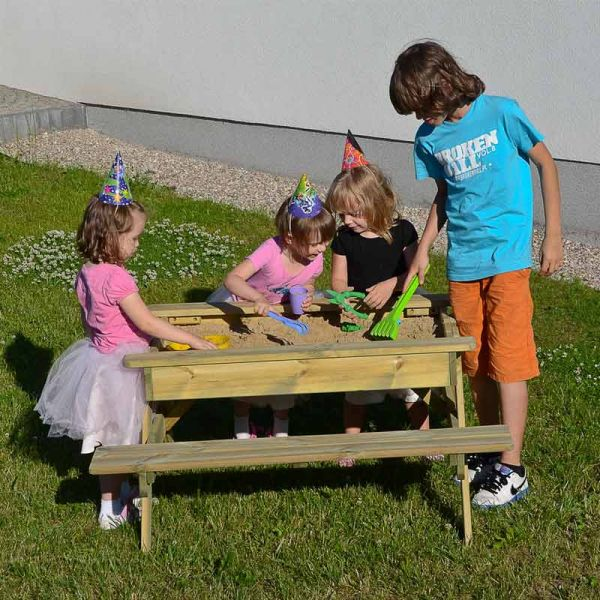 Kid's A Frame Sandpit Play Picnic Table