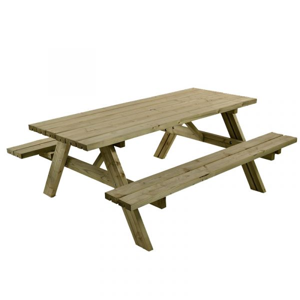 Foster Heavy Duty 8 Seat A-Frame Commercial Picnic Table