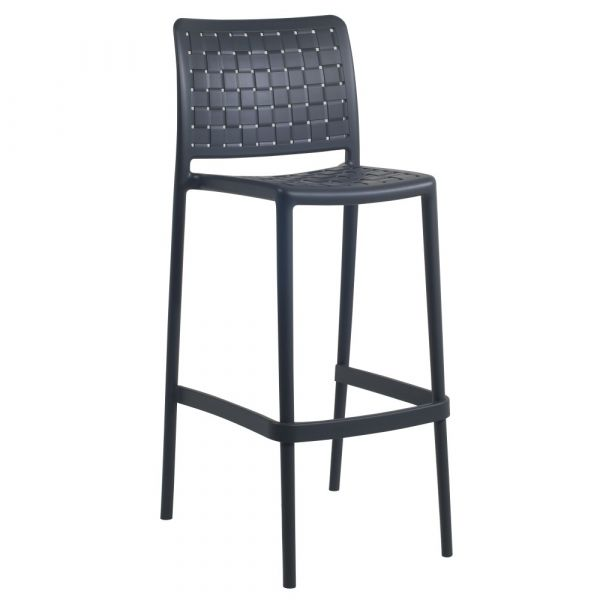 Fame-BS Bar Chair Anthracite 75cm