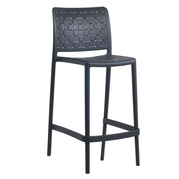 Fame-BS Mid-Height Bar Chair Anthracite 65cm