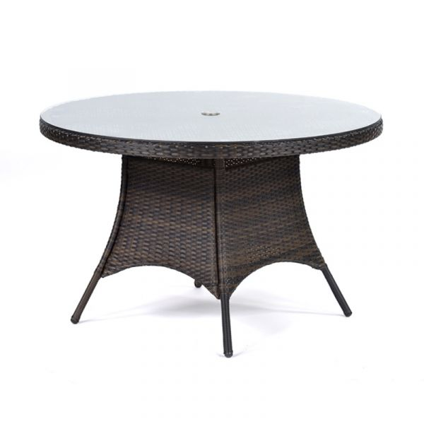 RA Table 1.2m Round Glass