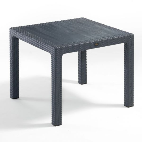 NEW Madrid Table 90x90 Anthracite NVS001