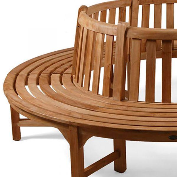 Large Grade A Teak Full Tree Seat