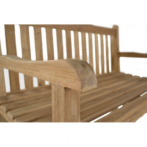 Warwick 3 Seat Grade A Teak Bench