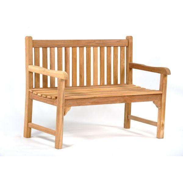 Benson 2 Seat Teak Bench