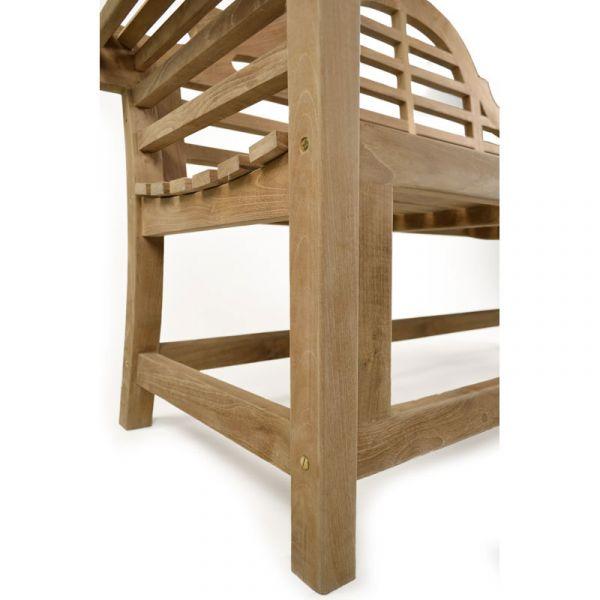 Lutyens 3 Seat Grade A Teak Bench