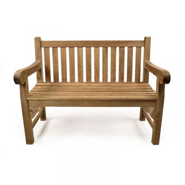 Queensbury 2 Seat Grade A Teak Bench