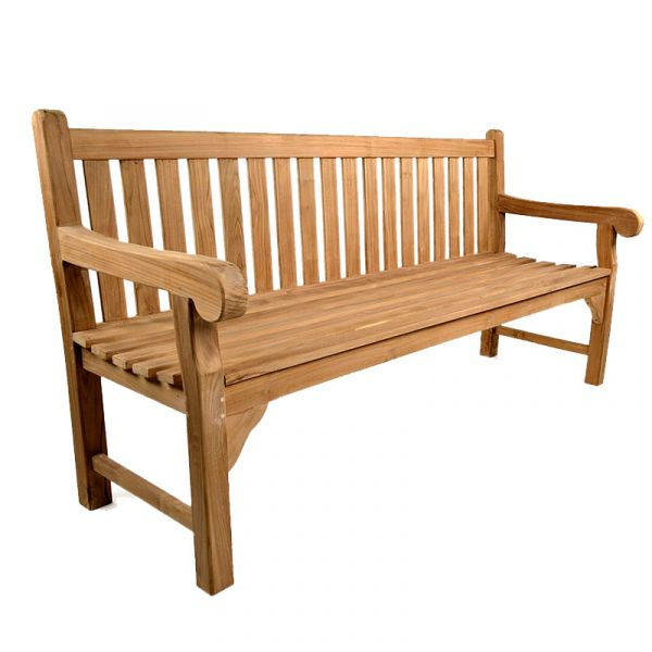 Queensbury 4 Seat Grade A Teak Bench