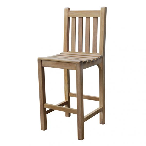Warwick Grade A Teak Bar Chair