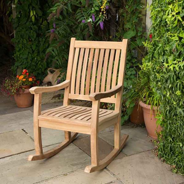 Grade A Teak Rockaing Arm Chair