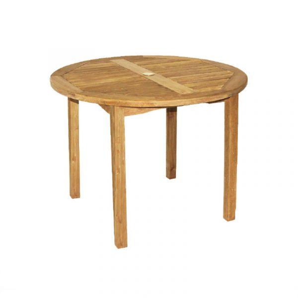 Benson Teak Round Dining Table