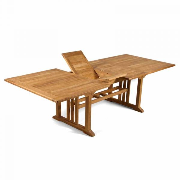 Berrington Grade A Teak Table with 10 Harston Stacking Chairs