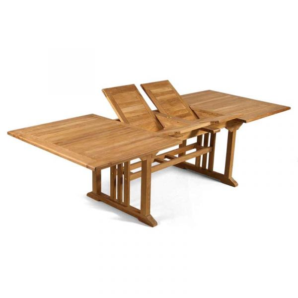 Berrington Grade A Teak Table with 8 Warwick Side Chairs and 2 Warwick Arm Chairs