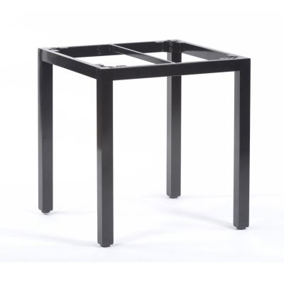 Steel Box Base Frame for 70cm Square Table Top in Black