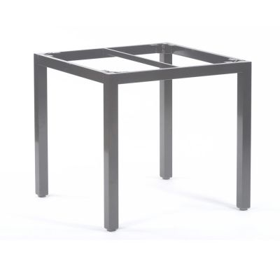 Steel Box Base Frame for 80cm Square Table Top in Grey