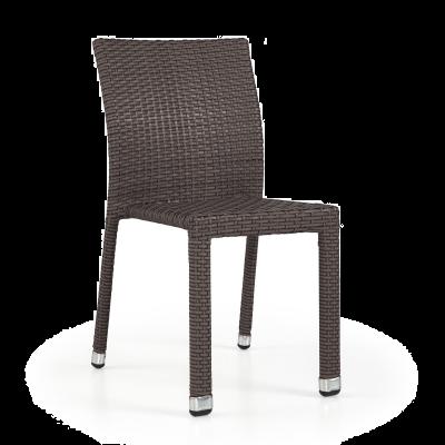 Lagos Rattan Side Chair Mocca Cream (ALR-2)