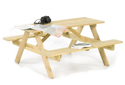 Romford 6 Seat Round Picnic Table