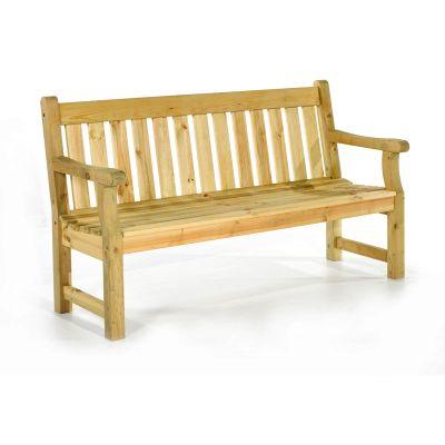 Darwin 3 Seat Pine Bench
