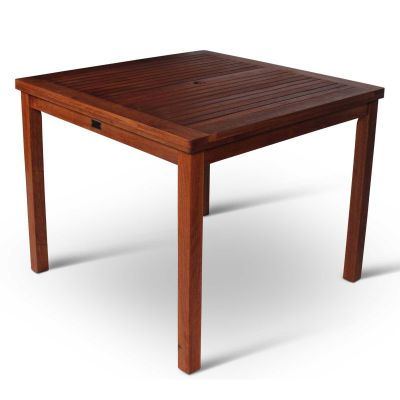Devon Hardwood Square Dining Table