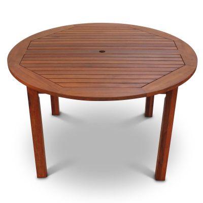Devon Hardwood Round Dining Table