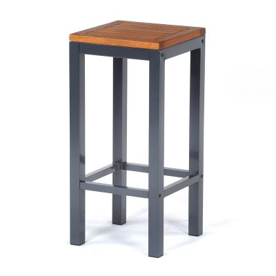 Dorset Hardwood High Bar Stool