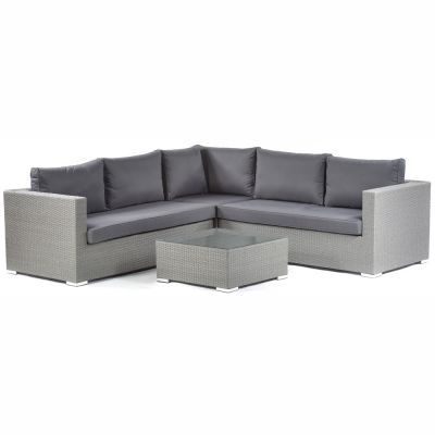 Oasis Rattan Corner Sofa and Coffee Table Set