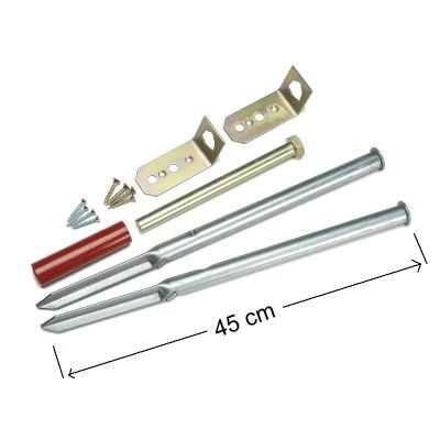 Soft Ground Fixing Kit With Reuseable Tool