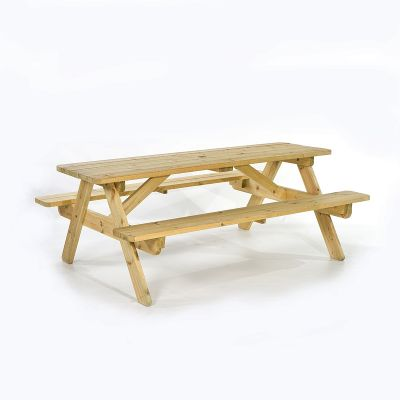 Jersey A Frame 8 Seat Commercial Picnic Table