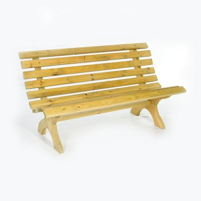 Lilly 3 Seat Pine Bench