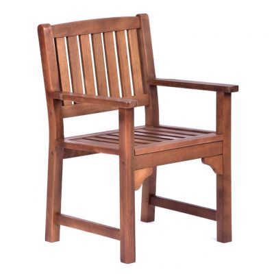 Melton Hardwood Arm Chair