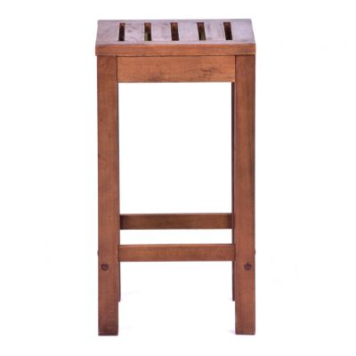 Melton Hardwood Mid-Height Bar Stool