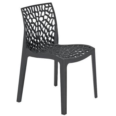 Neptune Polypropylene Chair Anthracite