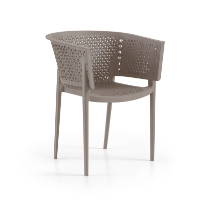 Oxy Arm Chair Turtle Dove Taupe