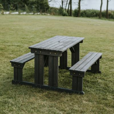 Guernsey Walk-in Bench 140cm - Dark Grey