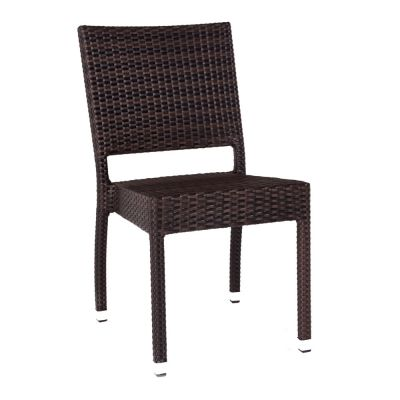 Ascot Classic Rattan Stacking Side Chair