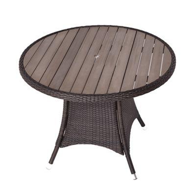 RA Table 1m Round Polywood